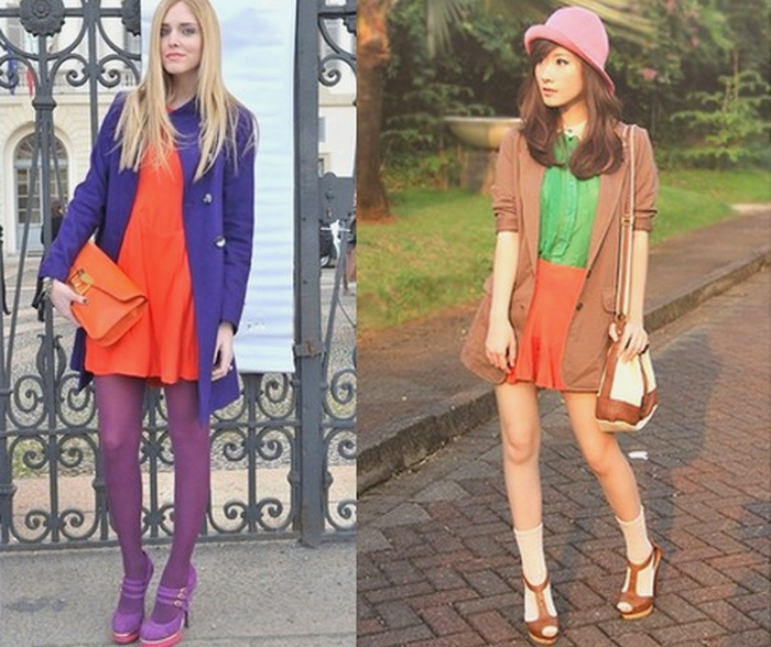 color-block-como-usar-verde-laranja